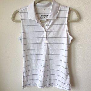 🌻 Nike Golf Women's White Sleeveless Polo Size XS